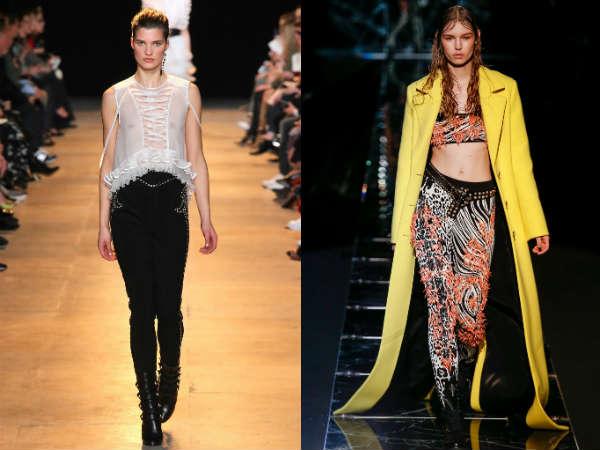 Pantaloni la moda iarna 2016 cu decor