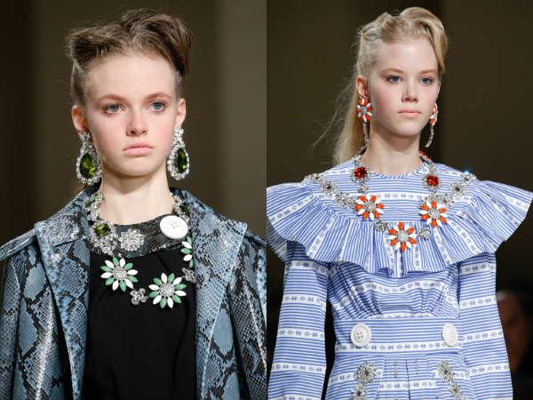 Accesorii la moda toamna-iarna 2015-2016: Seturi de bijuterii