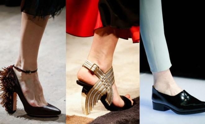 Pantofi la moda toamna-iarna 2015-2016