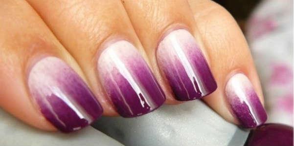 ombre violet