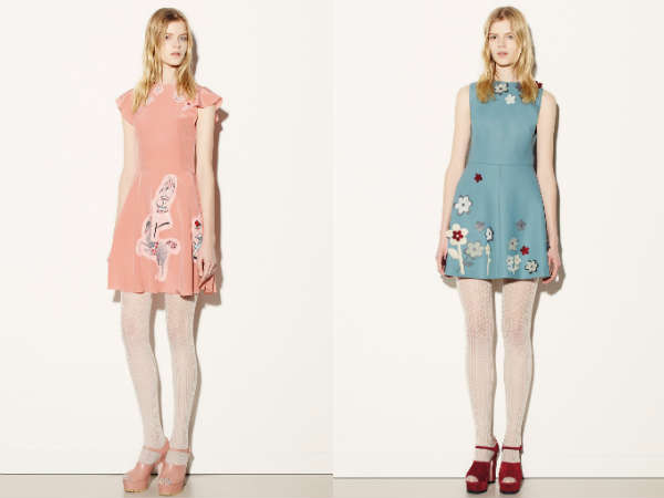 culori pastelate Red Valentino