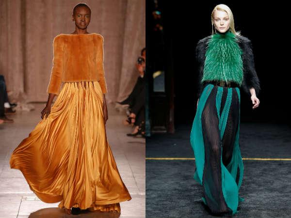 la moda din blana