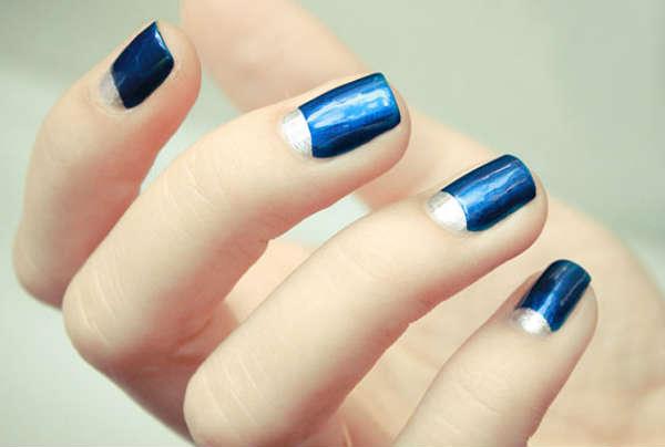 nuante albastru scurte