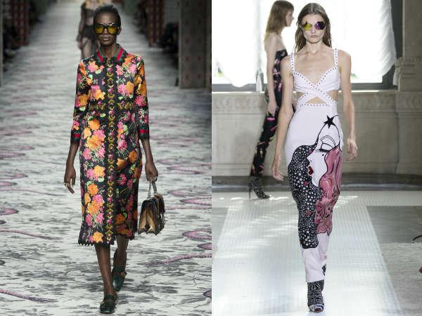 Rochii 2016 primavara vara: imprimeuri la moda