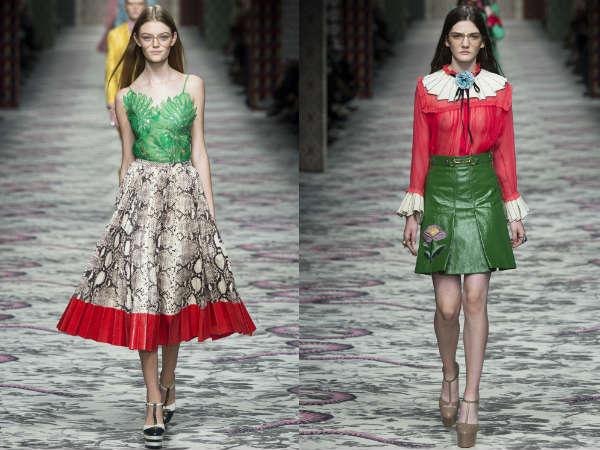 Gucci la saptamana modei de la Milano