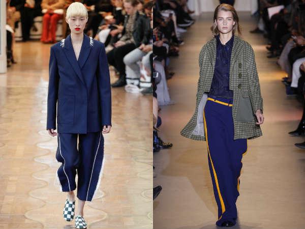 Pantaloni cu vipusca primavara vara 2016