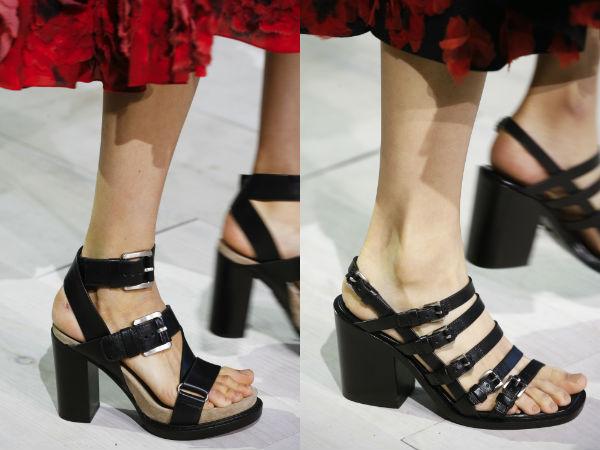 Sandale la moda cu cureluse 2016 primavara vara