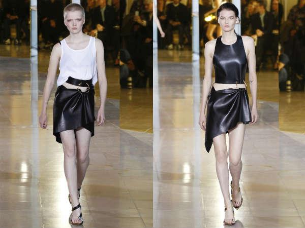 Anthony Vaccarello la saptamana modei de la Paris