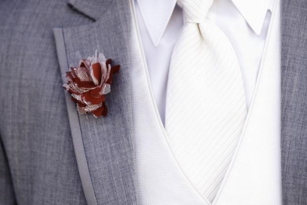 Cravate albe