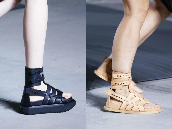 Sandale 2016 stil gladiator
