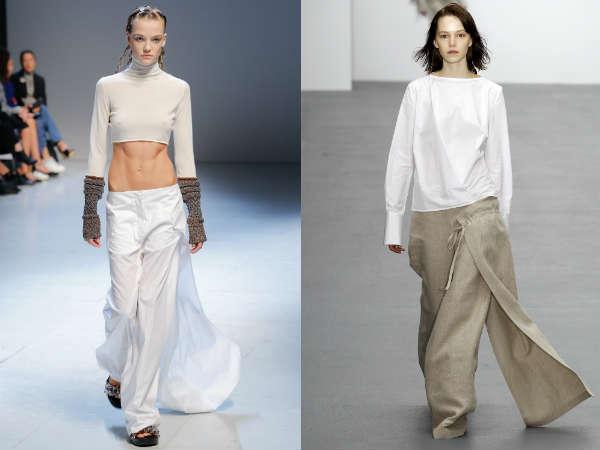 Pantaloni 2016 cu fusta