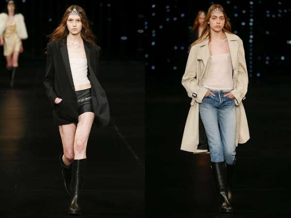Saint Laurent la saptamana modei la Paris primavara vara 2016