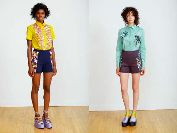 Pantaloni scurti primavara vara 2016: culori si imprimeuri
