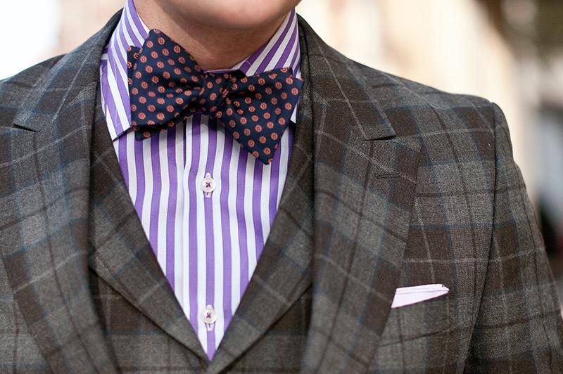 Cravate in forma de fluture