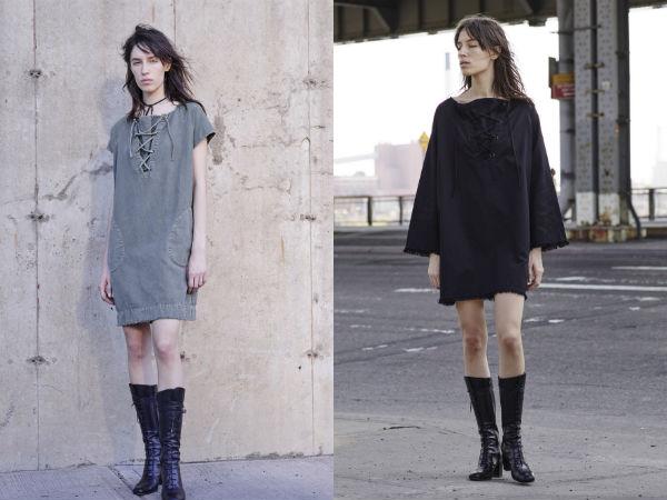 Tunici in stil minimalist primavara vara 2016