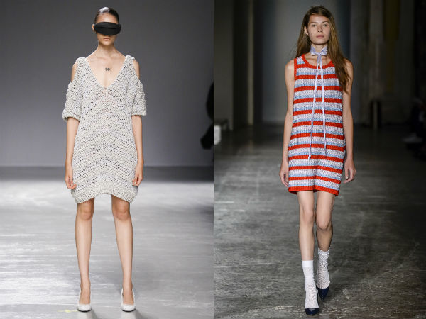 Tunici la moda primavara vara 2016: stofa