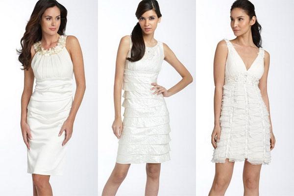Modele de rochii de mireasa scurte