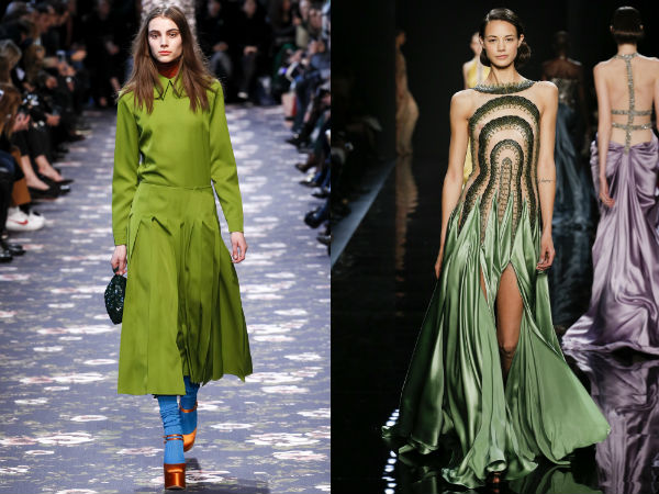 Ce culori rochii se poarta iarna 2016
