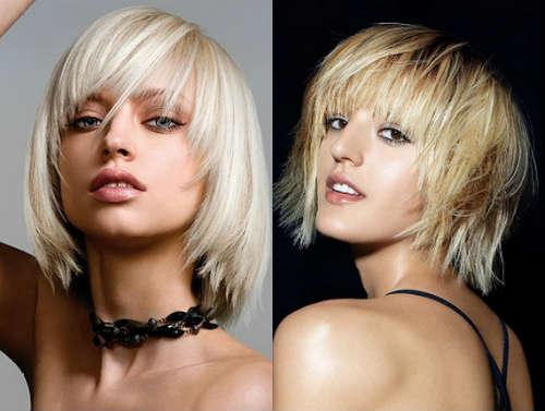Frizuri par blond