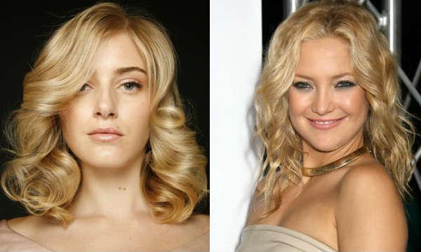 Tunsori par ondulat blond