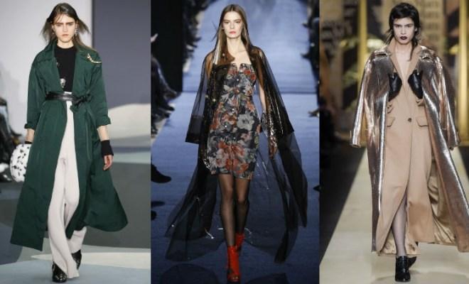 Trenciuri la moda toamna-iarna 2016-2017