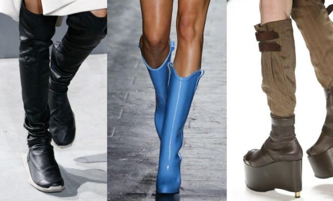 Cizme la moda toamna-iarna 2016-2017