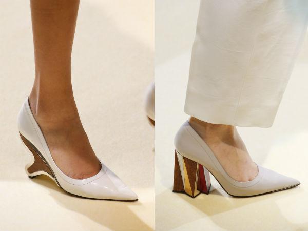 Pantofi dama de ocazie toc mediu