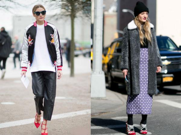 Moda strazii 2016 2017 toamna iarna: combinarea stilurilor