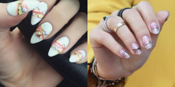 Modele desene pe unghii