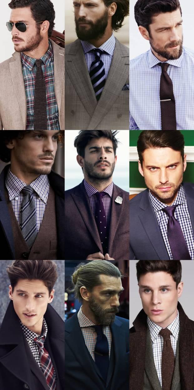 Ce cravata se combina cu camasa in carouri