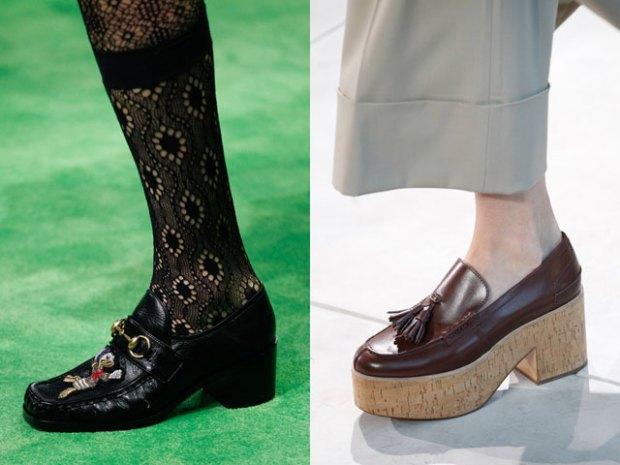 Pantofi loaferi primavara vara 2017