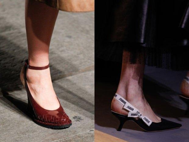 Pantofi dama 2017 cu calcaiul decupat