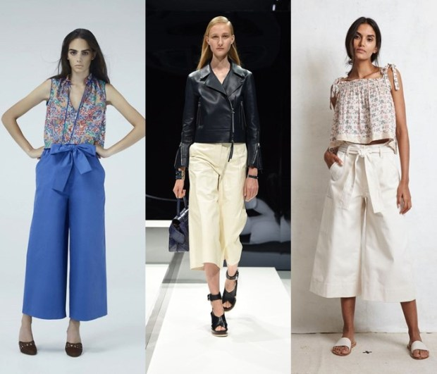 Pantaloni 2017 culottes