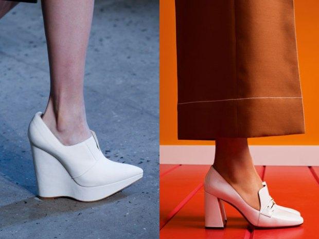 Pantofi culoare alba