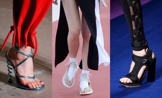 Sandale la moda primavara-vara 2017