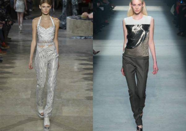 Topuri culoare argintie la moda 2017