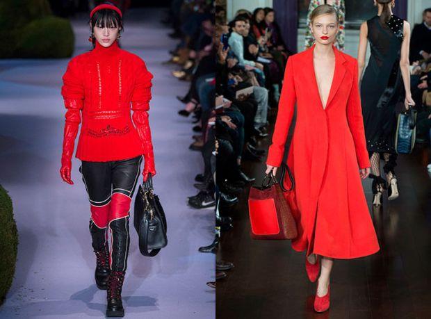 Nuante de rosu la moda toamna iarna 2017 2018