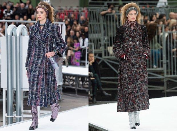 Paltoane Chanel toamna iarna 2017 2018