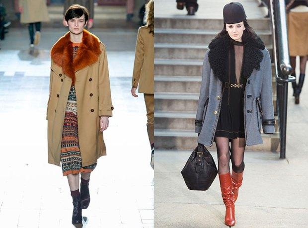 Palton fete scurt