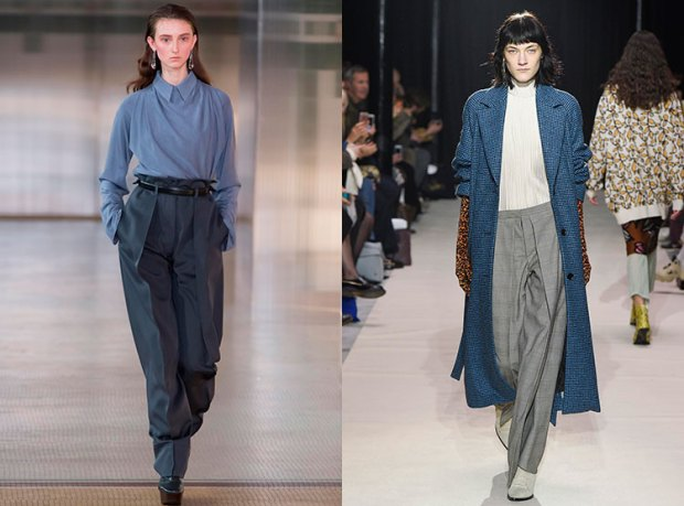 Pantaloni largi toamna iarna 2017 2018