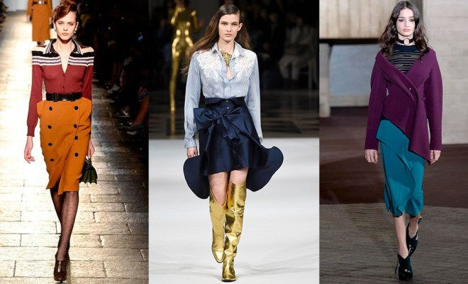 Fuste la moda toamna-iarna 2017-2018