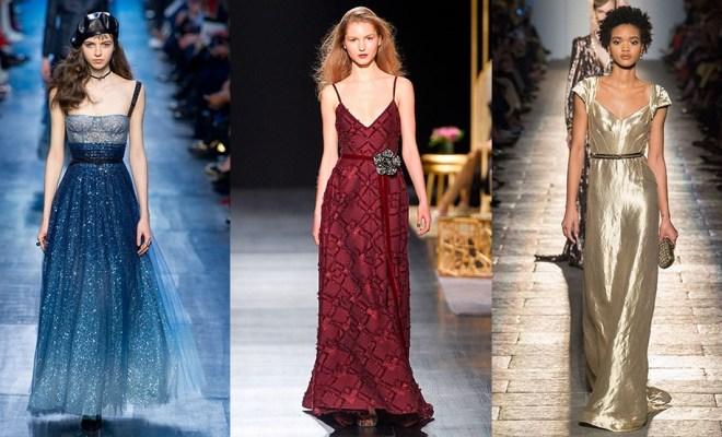 Rochii de seara la moda toamna-iarna 2017-2018