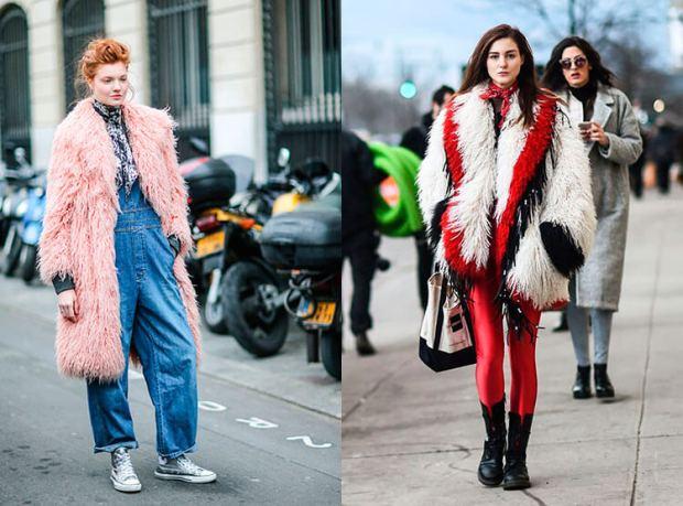 Moda strazii toamna iarna 2017 2018: blana