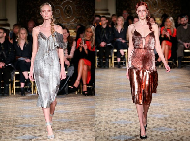 culori metalice la moda