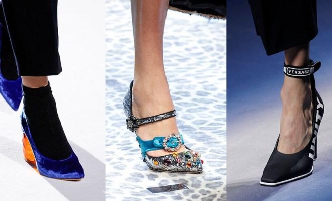 Pantofi la moda toamna-iarna 2017-2018