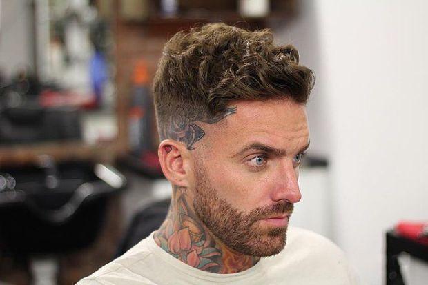 Frizuri barbati elegante