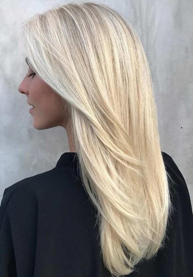 Nuante de blond care se poarta in 2018