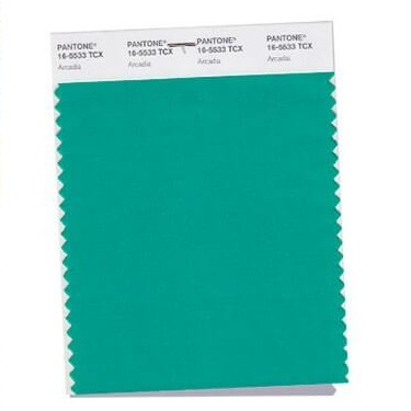 Culoarea verde Arcadia