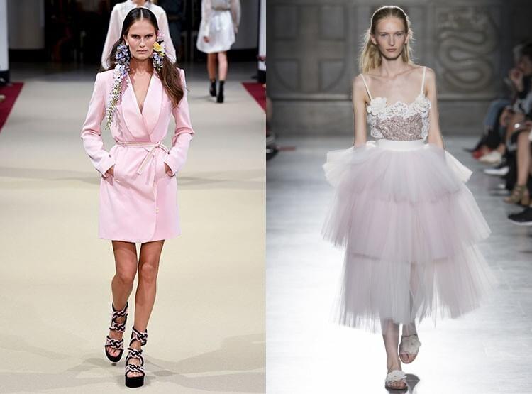 Culoarea anului 2018 rochii
