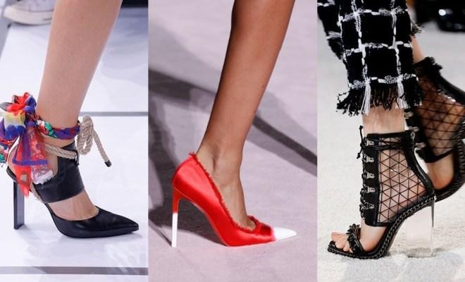 Incaltaminte la moda primavara-vara 2018